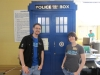 Rod and Leanne with the TARDIS