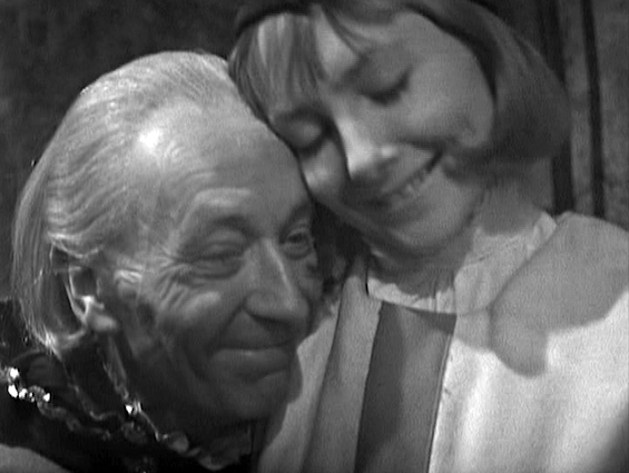 William Hartnall & Maureen O'Brien as the First Doctor and Viki