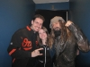 Rod and Leanne Hannah with Rob Zombie